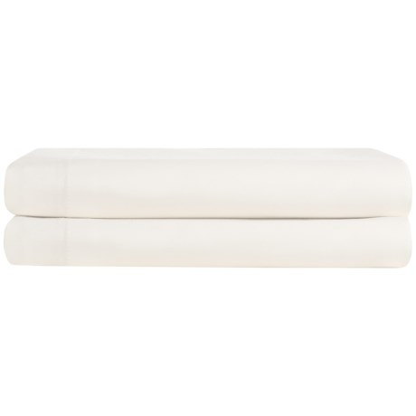Coyuchi Organic Cotton Sateen Pillowcases - King, 300 TC, Set of 2