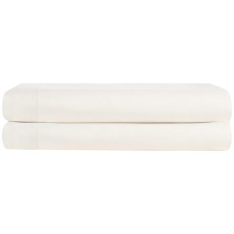Coyuchi Organic Cotton Sateen Pillowcases - King, 300 TC, Set of 2