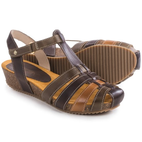 Pikolinos Rennes Wedge Sandals - Leather (For Women)