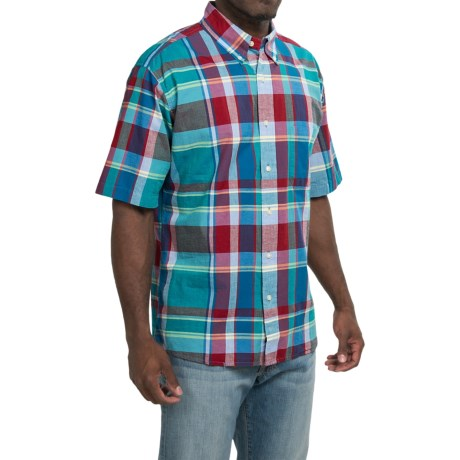 Bills Khakis Standard Issue Plaid Shirt - Button Up, Short Sleeve (For Men)