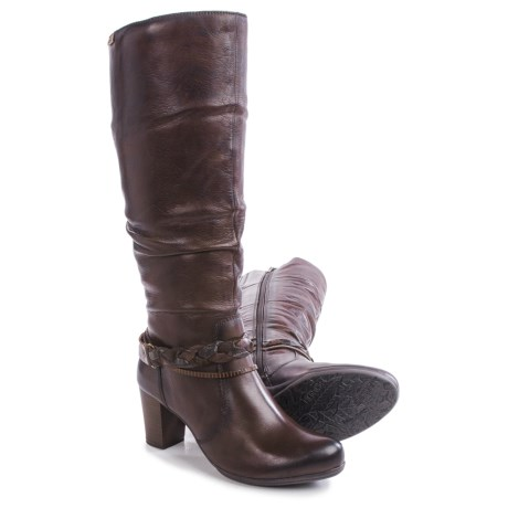 Pikolinos Verona Pleated Leather Boots (For Women)