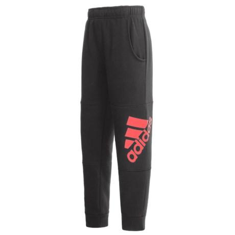 adidas Pieced Logo Pants (For Big Boys)