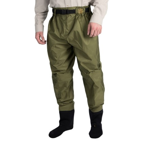 Proline Pro Line Sage Creek Breathable Waist-High Waders - Stockingfoot (For Men)
