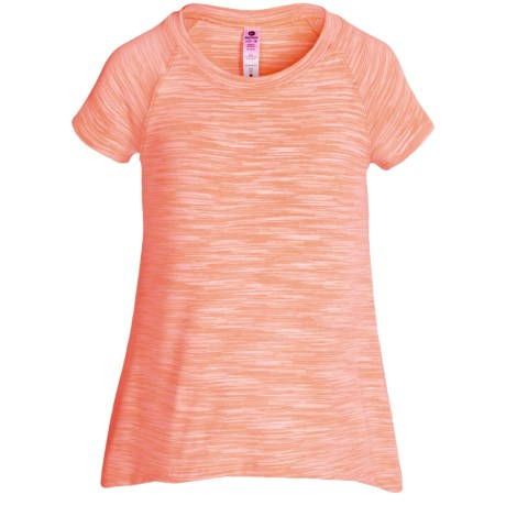 90 Degree by Reflex Space-Dye T-Shirt - Short Sleeve (For Big Girls)