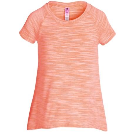 90 Degree by Reflex Space-Dye T-Shirt - Short Sleeve (For Big Girls)