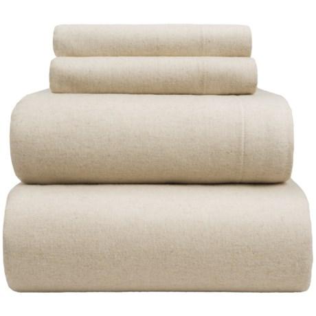 Wulfing Dormisette Luxury Flannel Sheet Set - King