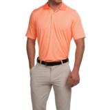 Fairway & Greene Houndstooth Tech Polo Shirt - Short Sleeve (For Men)