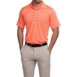 Fairway & Greene Seahawk Stripe Tech Polo Shirt - Short Sleeve (For Men)
