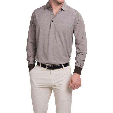 Fairway & Greene The Natural Parkway Tech Polo Shirt - Long Sleeve (For Men)