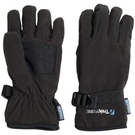 Trekmates Grippi Fleece DRY Gloves - Waterproof, Insulated (For Men)