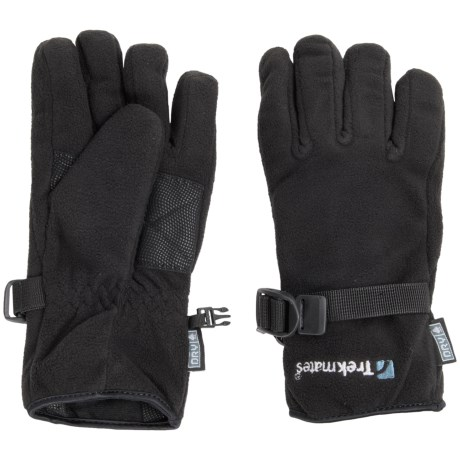 Trekmates Dry Fleece Grippi Gloves - Waterproof, Insulated (For Women)