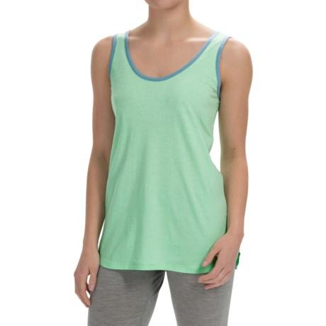 Nautica Sleepwear Jersey Tank Top - Drawstring Back Tie (For Women)
