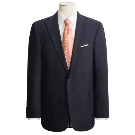 Arnold Brant Wool Gabardine Blazer - Fabric by Loro Piana (For Men)