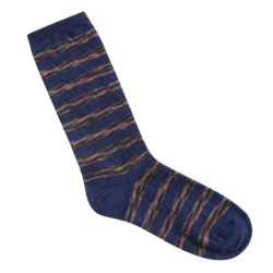 Nouvella Space Dye Stripe Socks (For Women)
