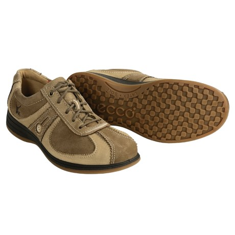 ECCO Natural Sneakers - Yak Leather Oxfords (For Men)