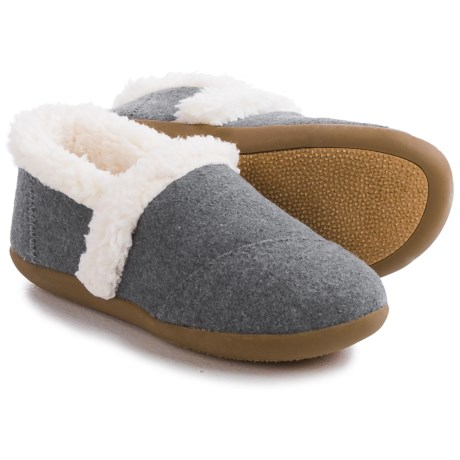 TOMS House Slippers - Wool (For Little and Big Kids)