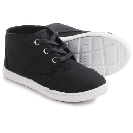 TOMS Paseo Mid Sneakers - Canvas (For Little and Big Kids)