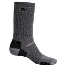 Point6 Boot 1806 Socks - Merino Wool, Mid Calf (For Men) in Grey/Black - 2nds