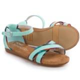 TOMS Correa Burlap Sandals (For Little and Big Girls)