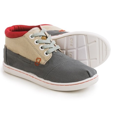 TOMS Botas Classic Chukka Boots (For Little and Big Kids)