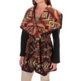Pendleton Heritage Nez Aztec Blanket Coat - Wool (For Women)