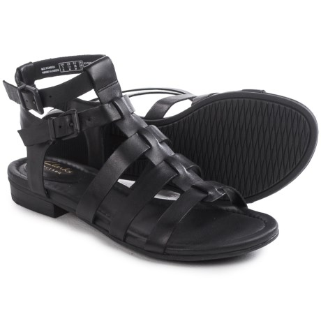 Clarks Viveca Myth Gladiator Sandals - Leather (For Women)