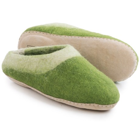 Ambler Mountain Wool Slippers (For Men and Women)