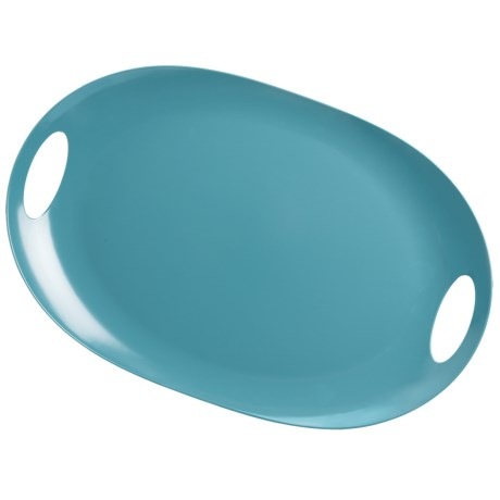 """Knack3 Cape Cod Oval Tray with Handles - 20x13"""""""