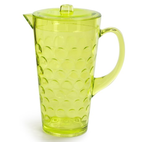 Knack3 Cabin Collection Embossed Circle Pitcher - 2 qt.