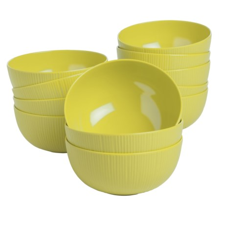 Knack3 Cabin Collection Melamine Bowls - Set of 12