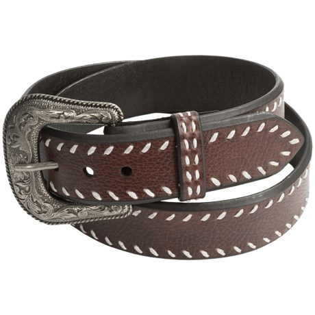 Roper Laced Leather Belt (For Men)