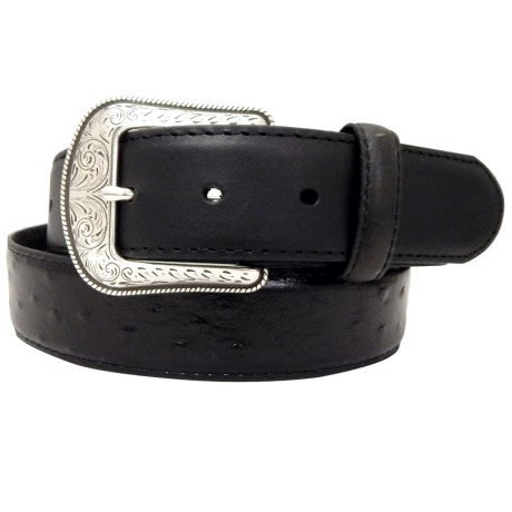 Dan Post Ostrich Leather Belt (For Men)