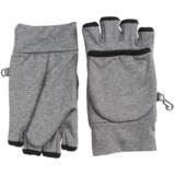 Grand Sierra Heathered Fleece Pop-Top Gloves - Convertible (For Women)