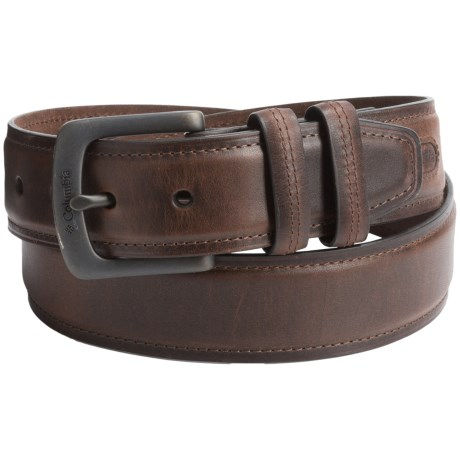Columbia Sportswear Pull-Up Leather Belt (For Men)