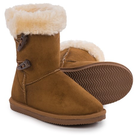 APRES Apres by LAMO Footwear Toggle Sueded Boots (For Little and Big Kids)