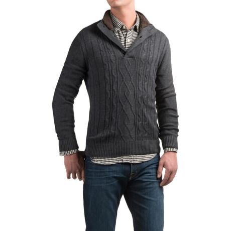 Tricots St. Raphael Aran Sweater (For Men)