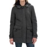 Weatherproof Sweater Fleece Bonded Sherpa Jacket (For Women)