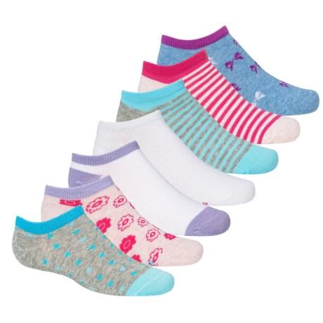 Stride Rite Brooke Socks - No Show, 7-Pack (For Little Girls)