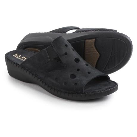 La Plume Pisa Sandals - Nubuck (For Women)