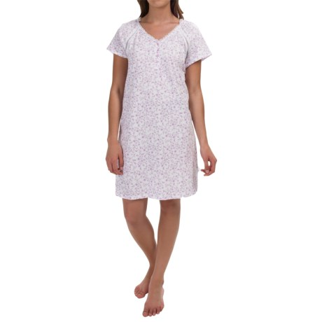 Carole Hochman Melody Nightshirt - Short Sleeve (For Women)