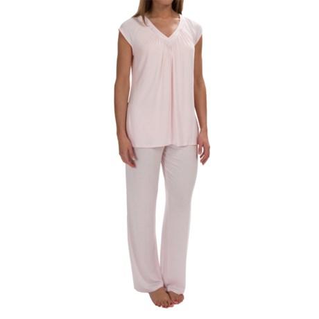 Midnight by Carole Hochman Core Modal Pajamas - Short Sleeve (For Women)