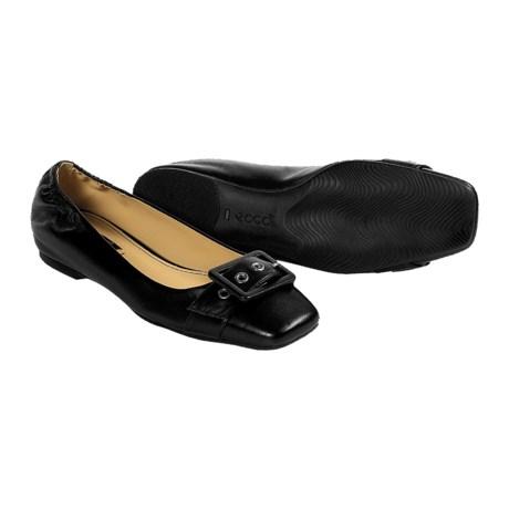 ECCO Dallas Buckle Flats - Slip-Ons (For Women)