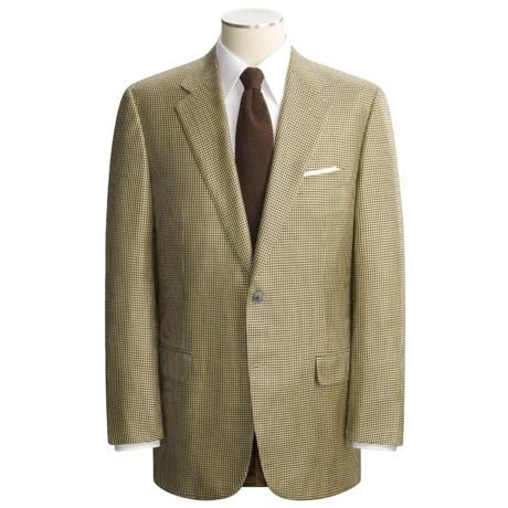 Belvest Classic Houndstooth Sport Coat - Silk-Wool (For Men)