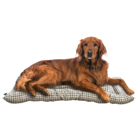 "Telluride Tattersall Dog Crate Mat - Large, 36x23"""