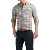 Weatherproof Plaid Flannel Shirt - Long Sleeve (For Men)