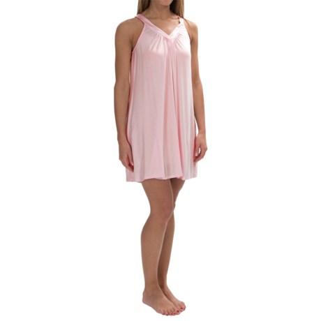 Midnight by Carole Hochman Essential Modal-Blend V-Neck Chemise - Sleeveless (For Women)
