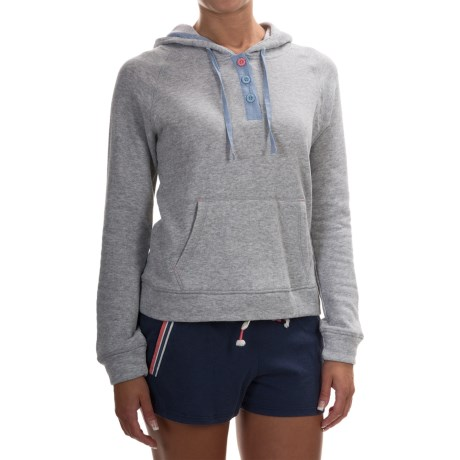 Jane and Bleecker French Terry Hoodie (For Women)
