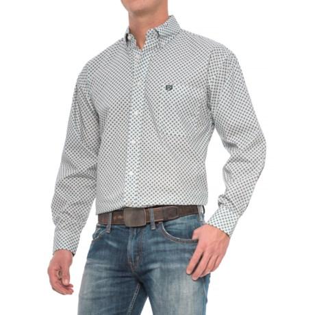 Panhandle Select Poplin Print Shirt - Long Sleeve (For Men)