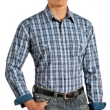 Rough Stock by Panhandle Hanly Vintage Ombre Plaid Shirt - Snap Front, Long Sleeve (For Men)