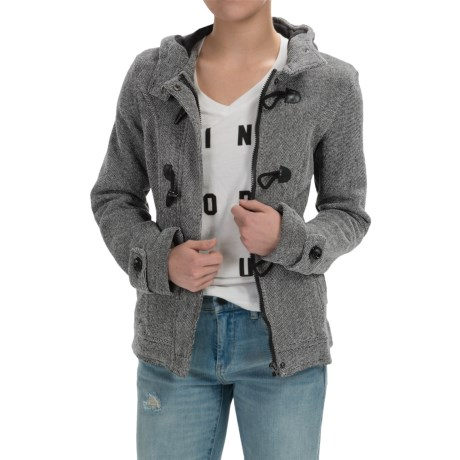 Sebby Collection Hooded Toggle-Front Jacket (For Women)